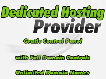 Affordably priced dedicated web hosting service